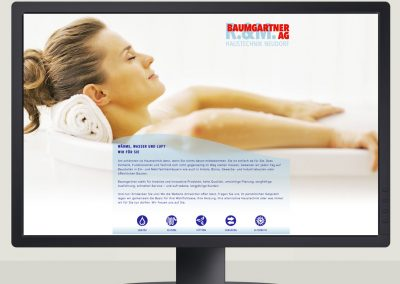 R. & M. Baumgartner AG – Website